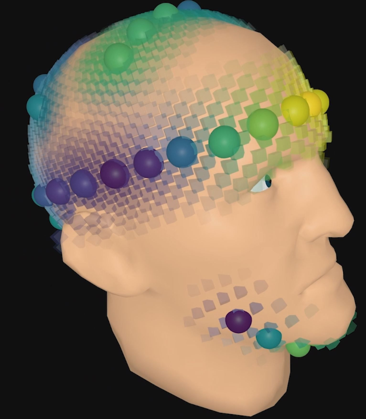 Vibrotactile Funneling Illusion and Localization Performance on the Head