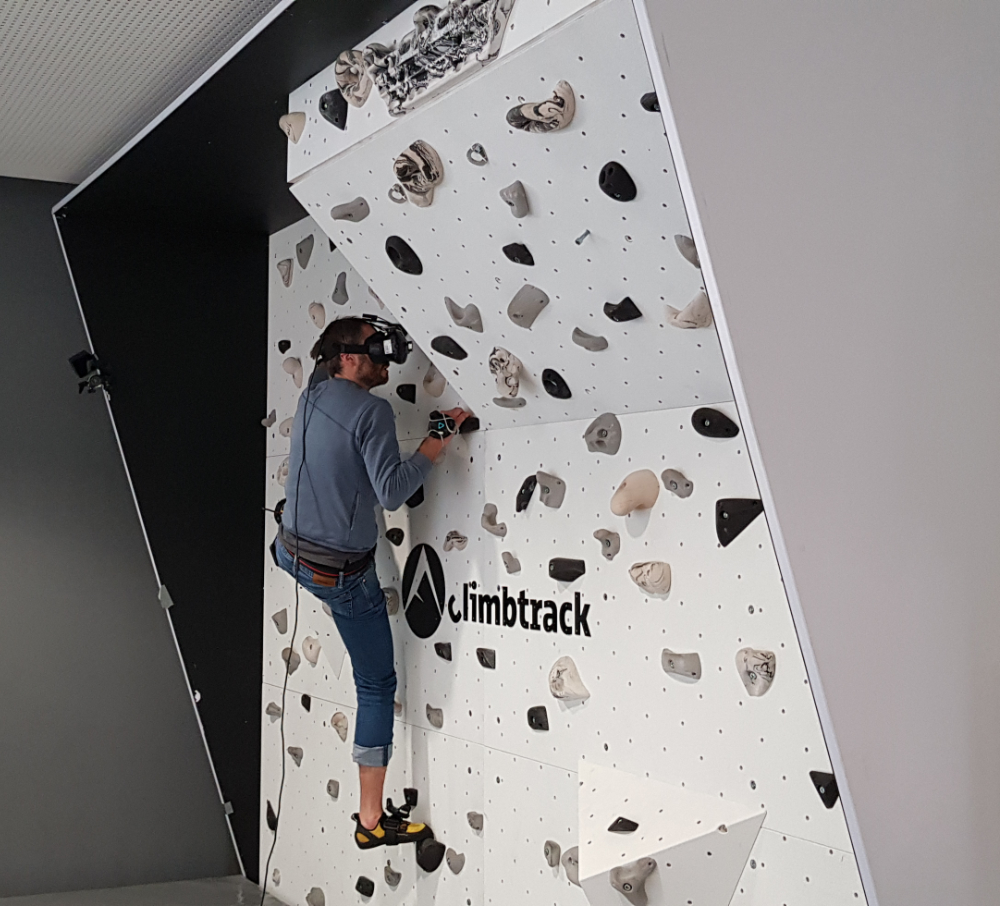 The Importance of Virtual Hands and Feet for Virtual Reality Climbing