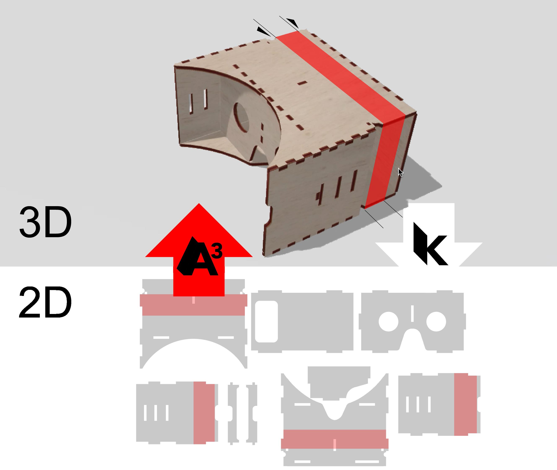 assembler3: 3D Reconstruction of Laser-Cut Models