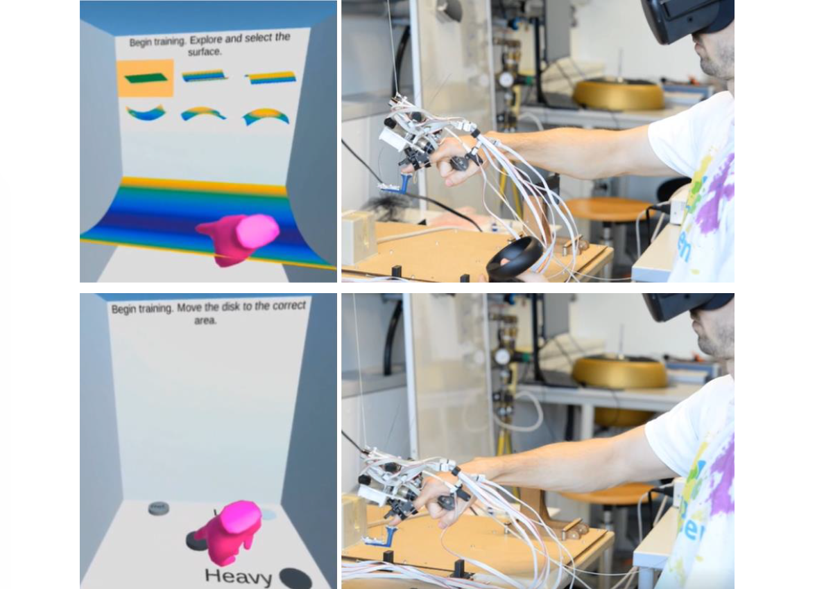 Ungrounded Vari-Dimensional Tactile Fingertip Feedback for Virtual Object Interaction