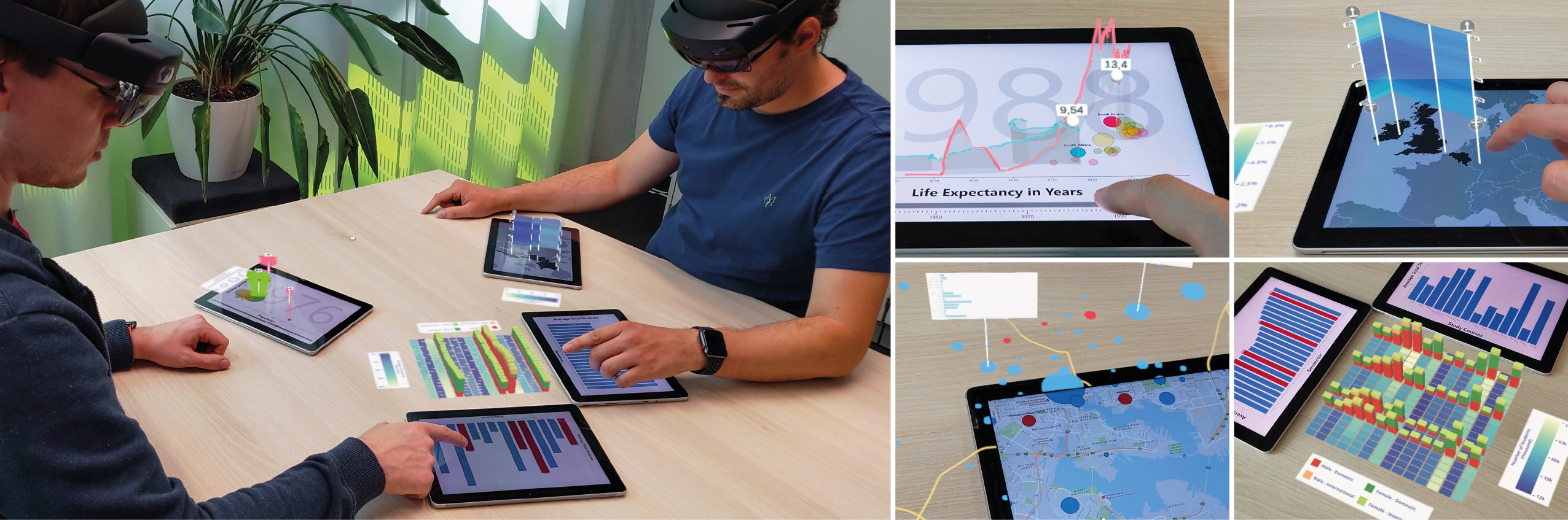 MARVIS: Combining Mobile Devices and Augmented Reality for Visual Data Analysis