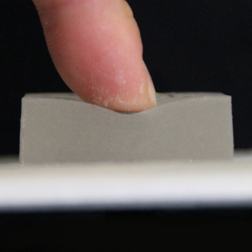 Squish This: Force Input on Soft Surfaces for Visual Targeting Tasks